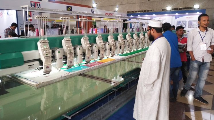Ad-Din Group brings new HTM series for embroidery solution in Bangladesh
