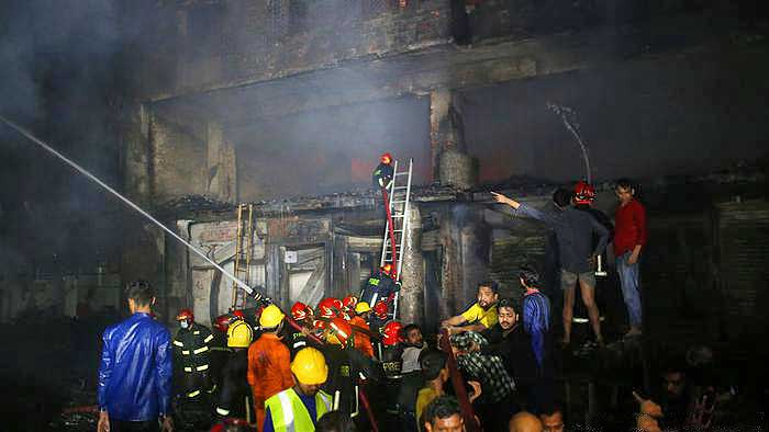 Four lives lost in a tragic spinning mill fire incident in Bangladesh